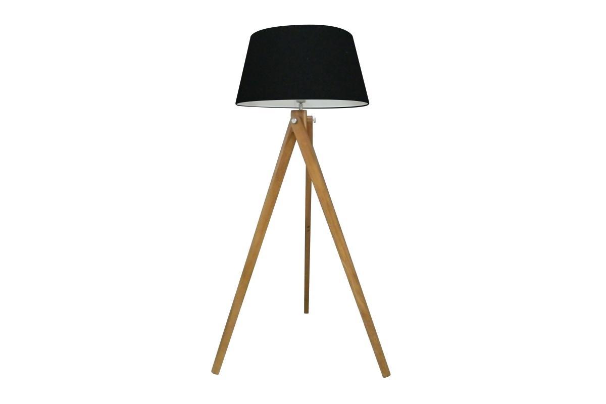 Designová stojanová lampa Dawson, 155 cm, černá
