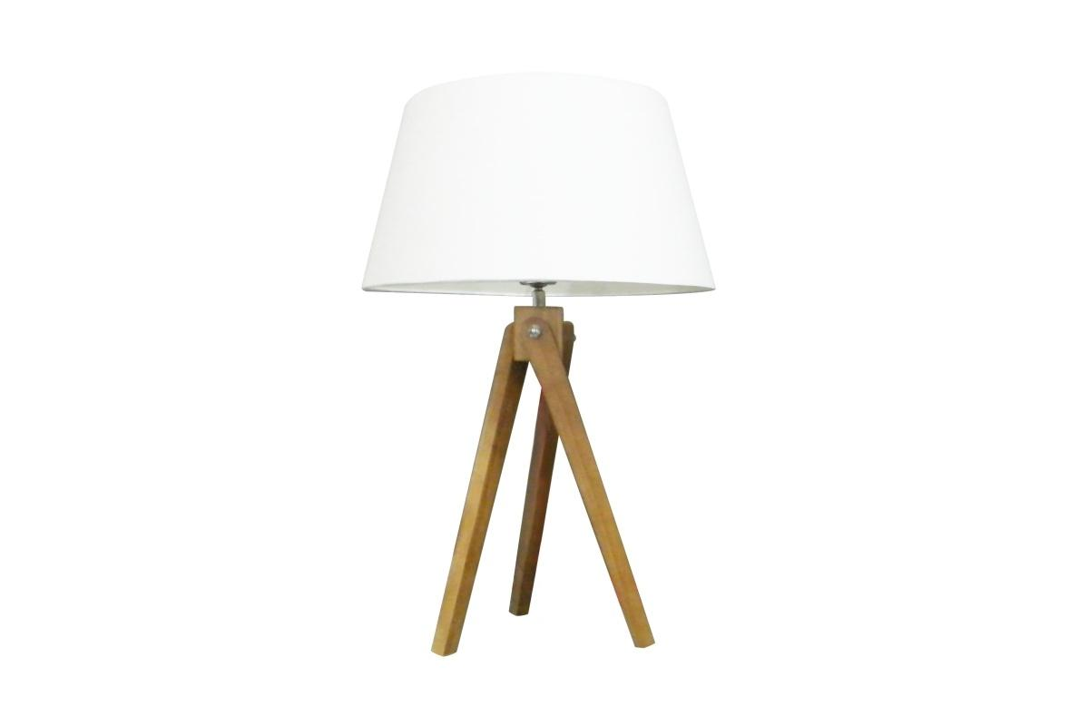 Designová stolní lampa Dawson, 64 cm, bílá