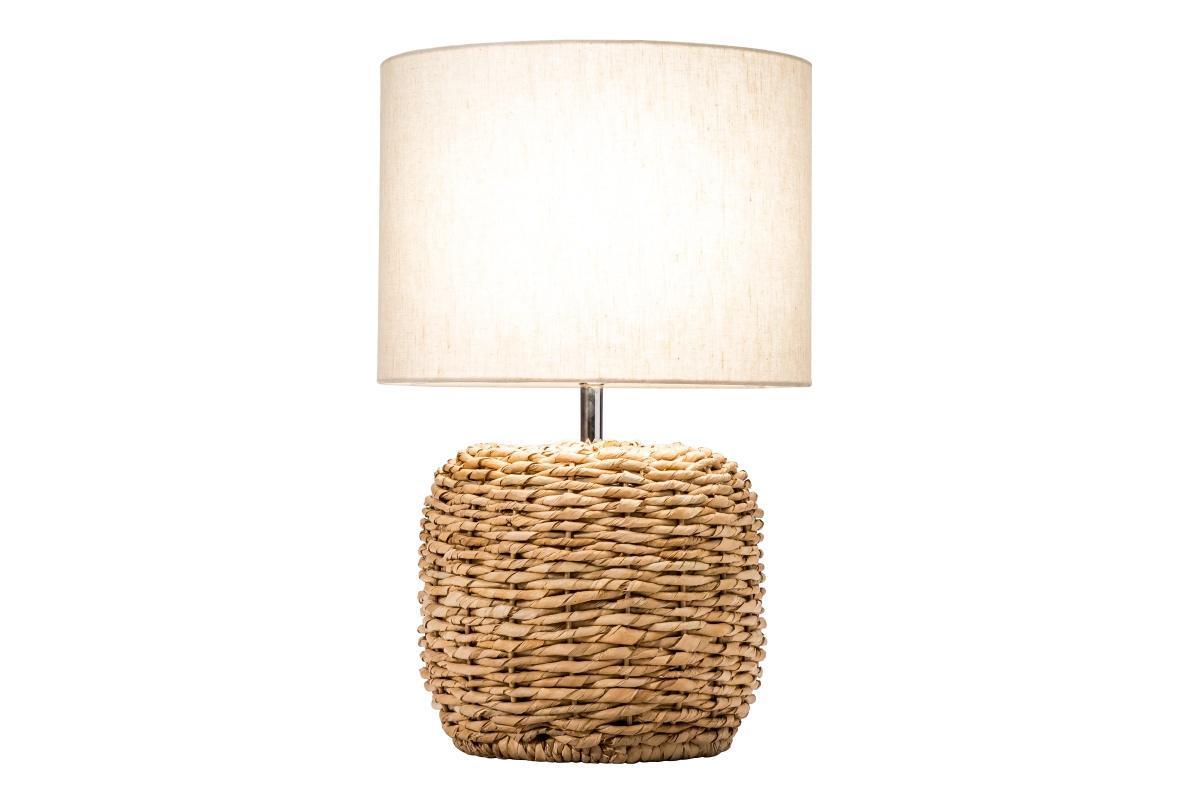 Designová stolní lampa Madyson, 47 cm, pletená