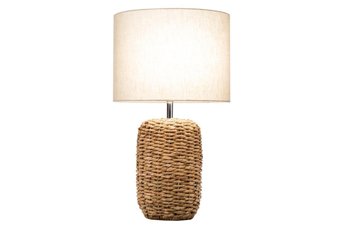 Designová stolní lampa Madyson, 51 cm, pletená
