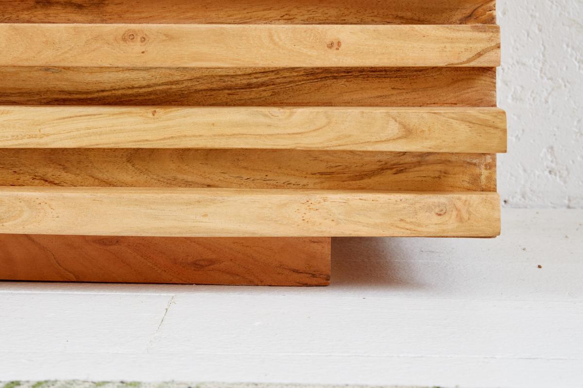 Designový TV stolek Lorenzo, 150 cm, akácie