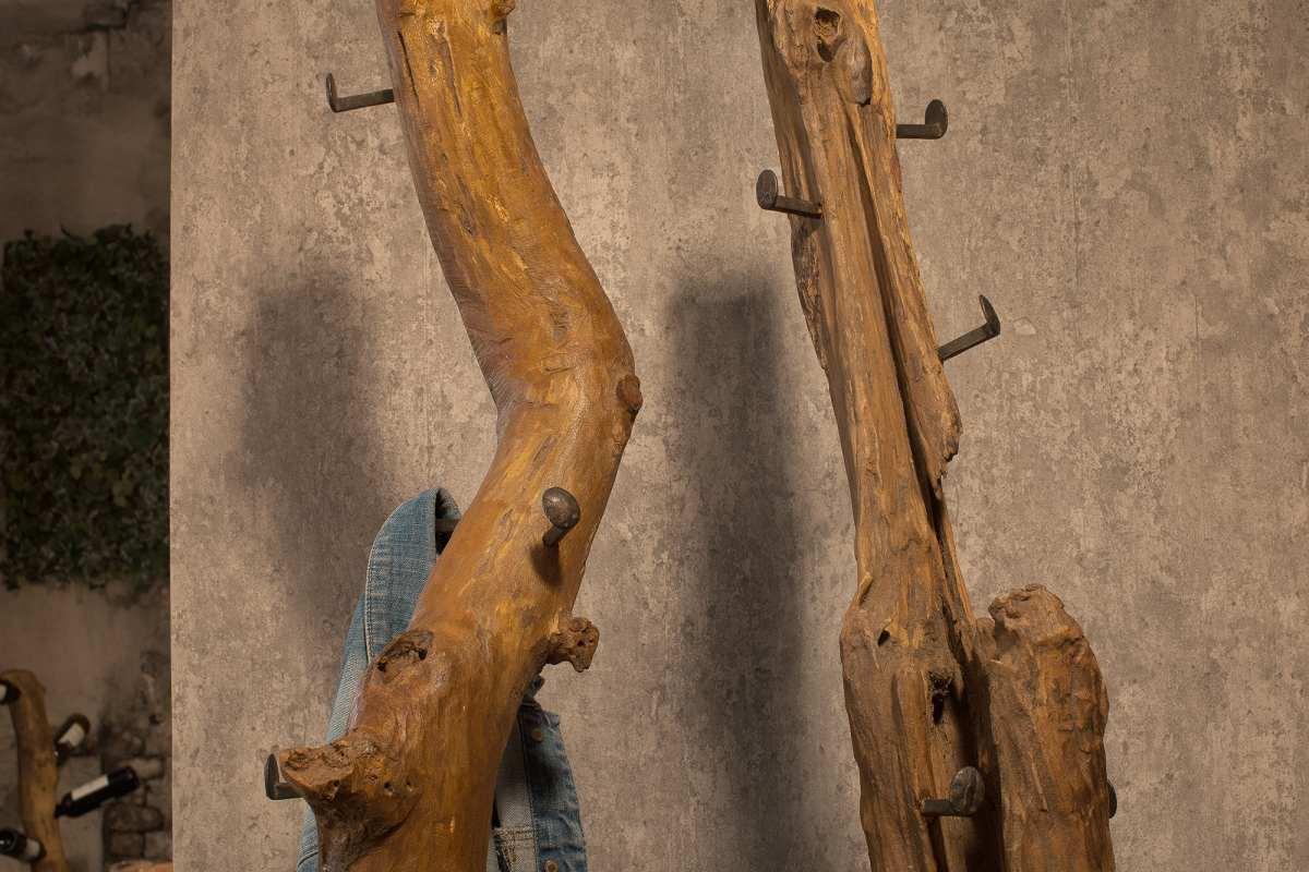 Designový věšák Lyric, 200 cm, teak