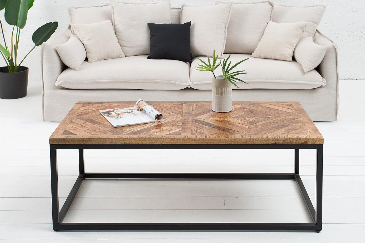 Designový konferenční stolek Allen Home, 120 cm, mango