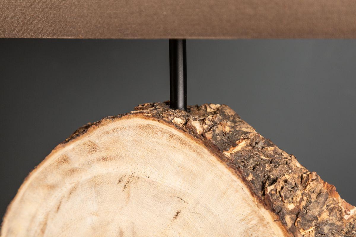 Stolní lampa Desmond, 46 cm, ořech