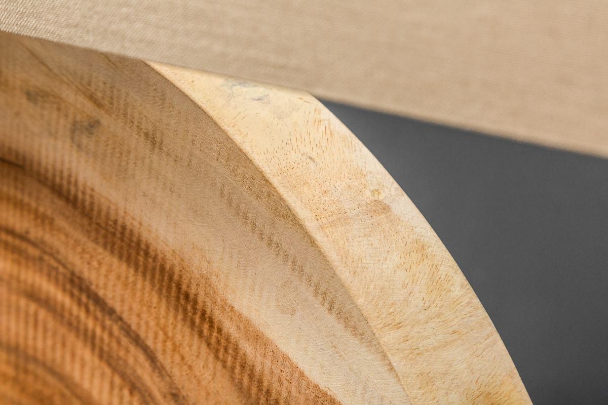Designová stolní lampa Lorelei, 80 cm, ořech
