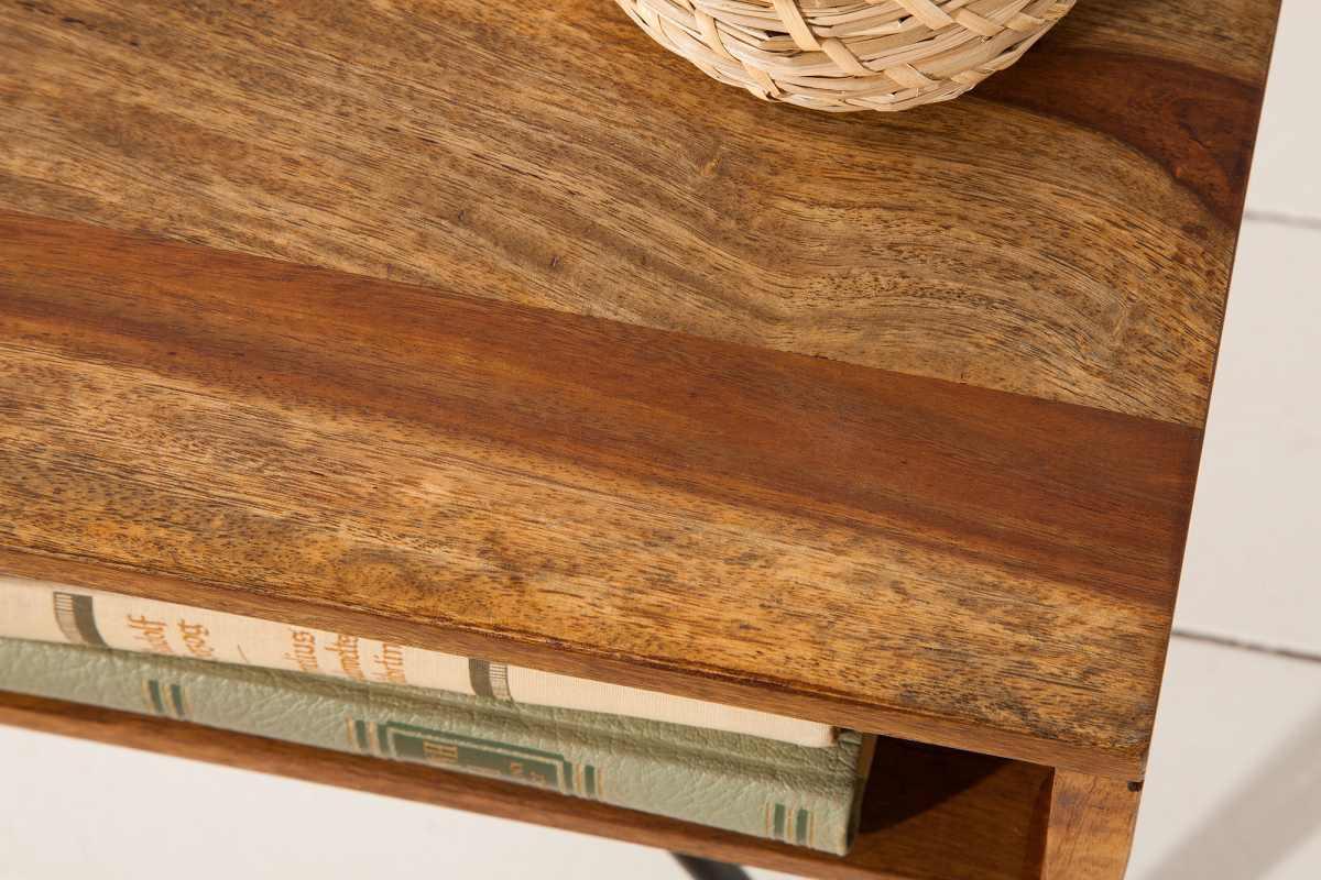 Designový konferenční stolek Shayla, 60 cm, sheesham