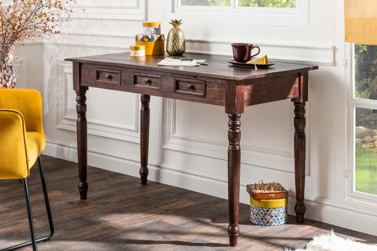 Designový psací stůl Lyric, 120 cm, mahagon