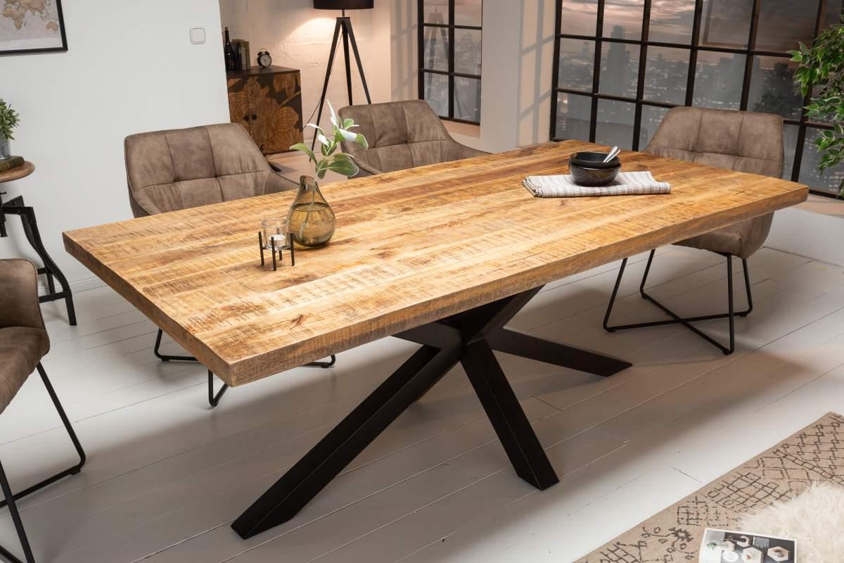 Designový jídelní stůl Vera, 180 cm, mango