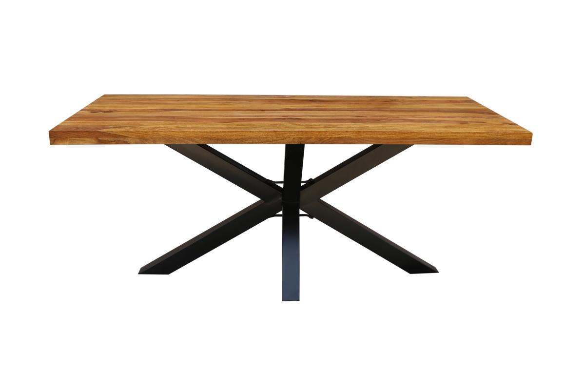 Designový jídelní stůl Vera, 180 cm, sheesham