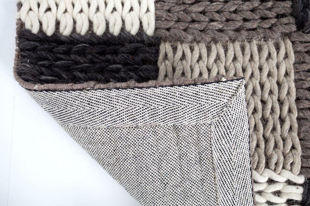 Designový koberec Rebecca 200x120 cm / šedá patchwork