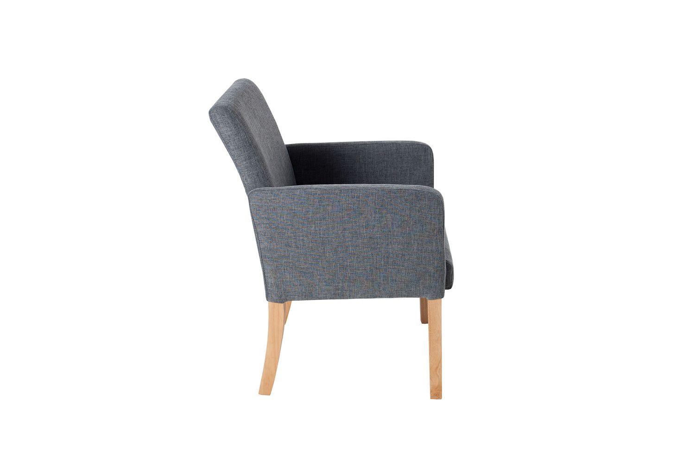 Designová stolička Clemente šedá