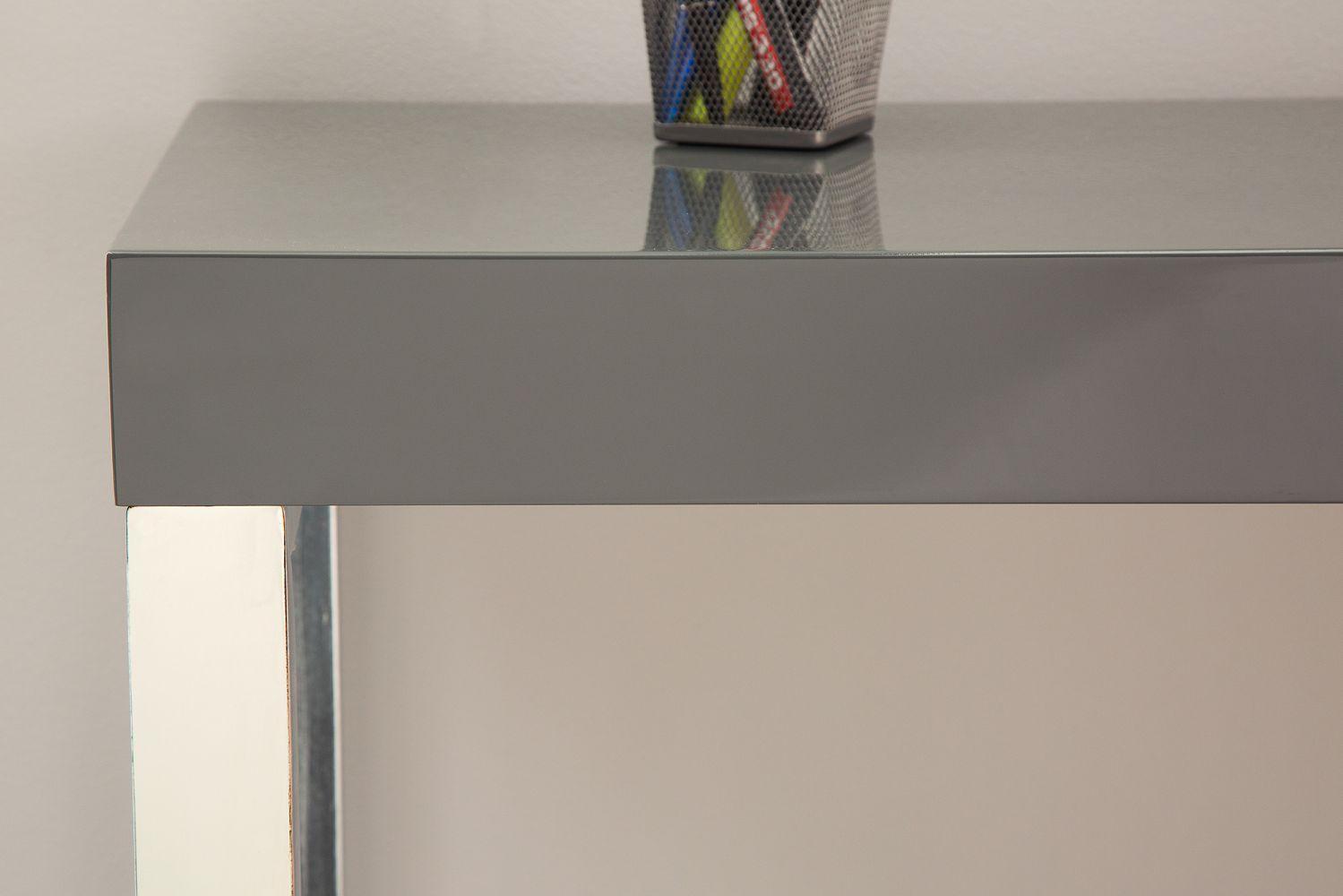 Psací stůl Office / tmavě šedý