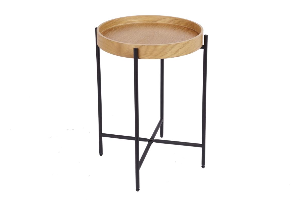 Odkládací stolek Factor 43 cm dub