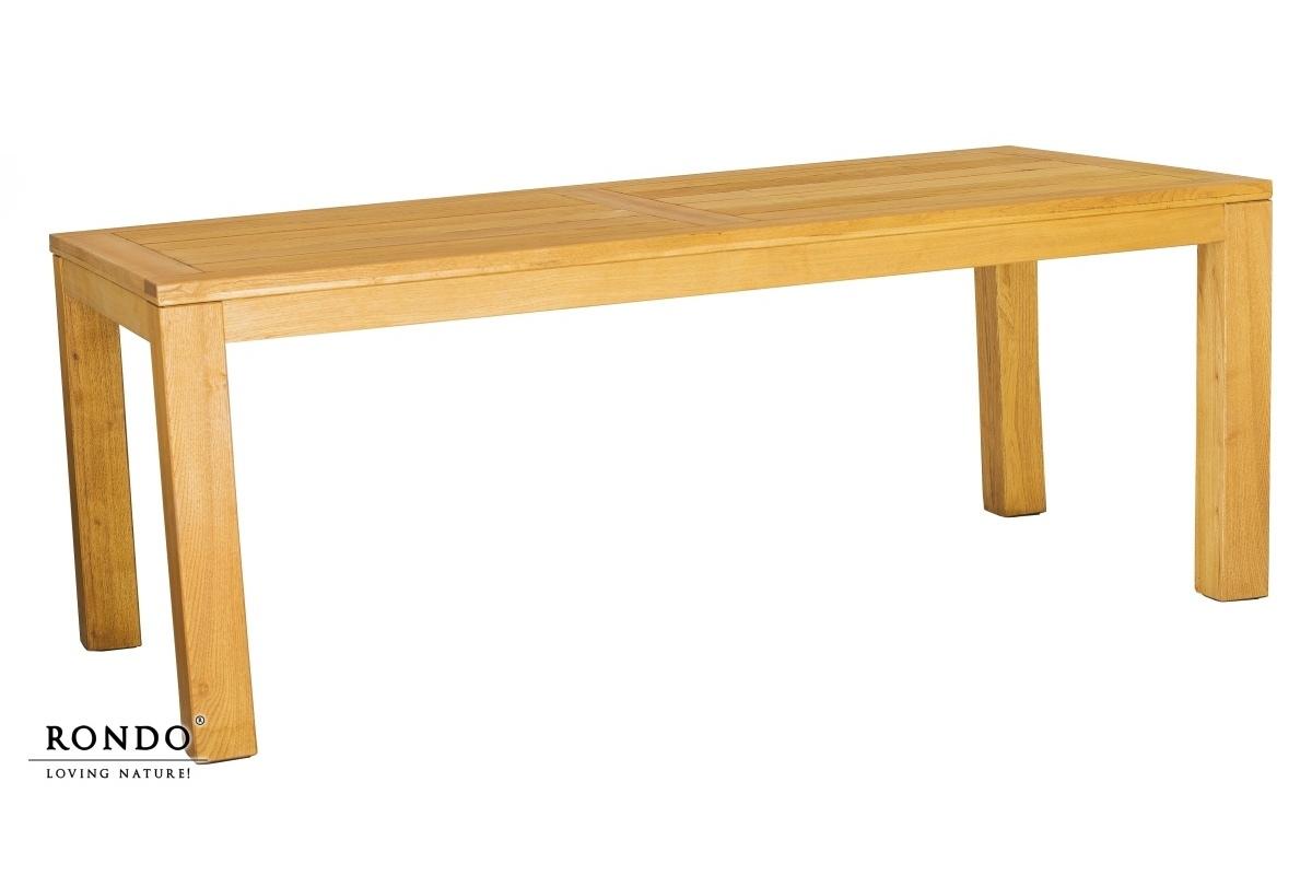Rozkládací zahradní stůl Caro 220/300 x 100 cm