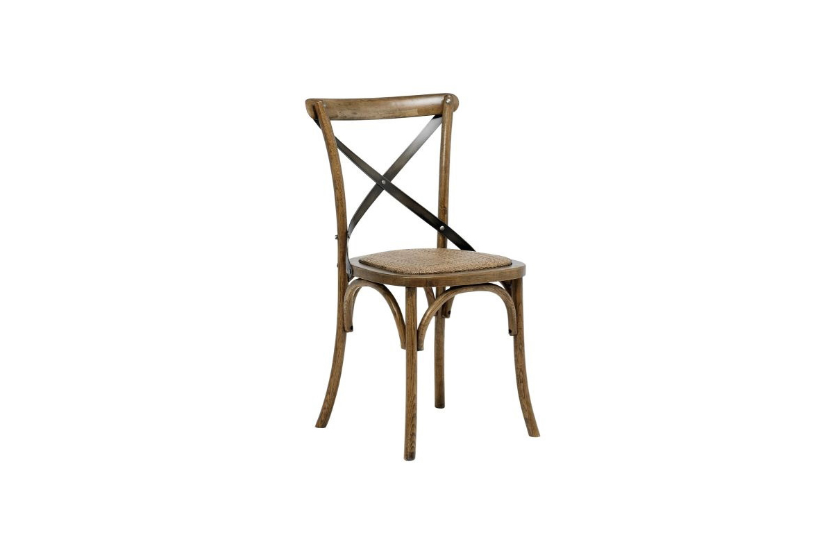 Stylová jídelní židle Nikeesha antická