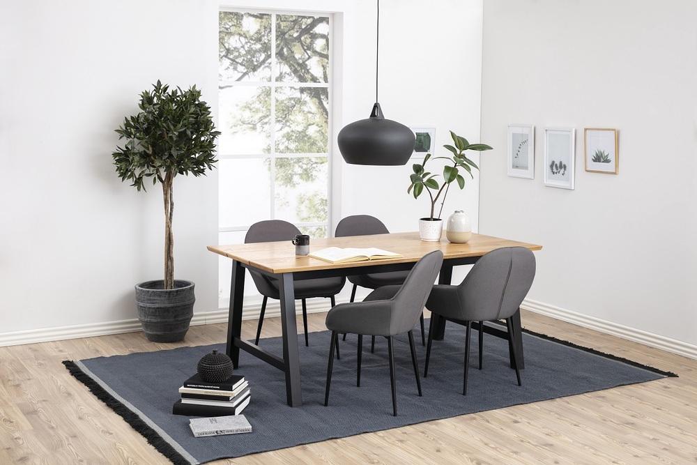 Stylová židle Alard šedá