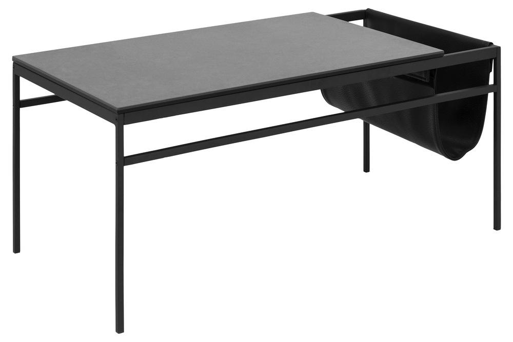 Stylový konferenční stolek Agustin černá