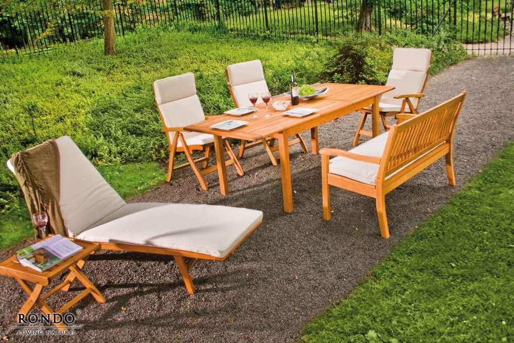 Zahradní lavice Kansas pro 3 osoby