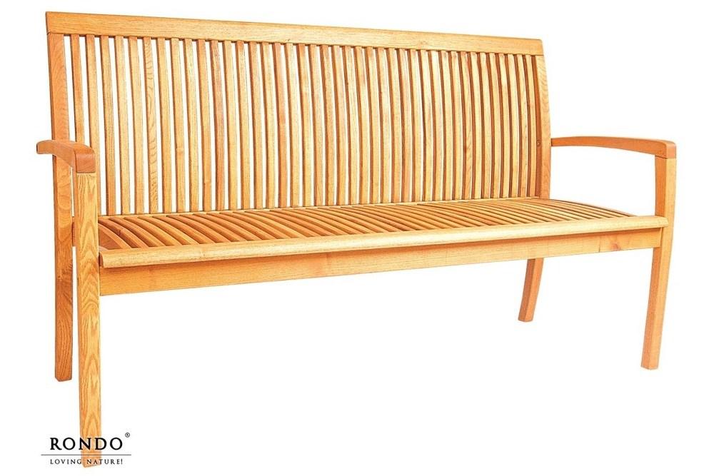 Zahradní lavice Verno pro 3 osoby