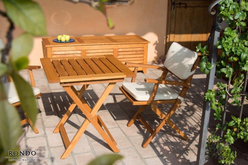 Zahradní skládací stůl Galaxy 70 x 70 cm