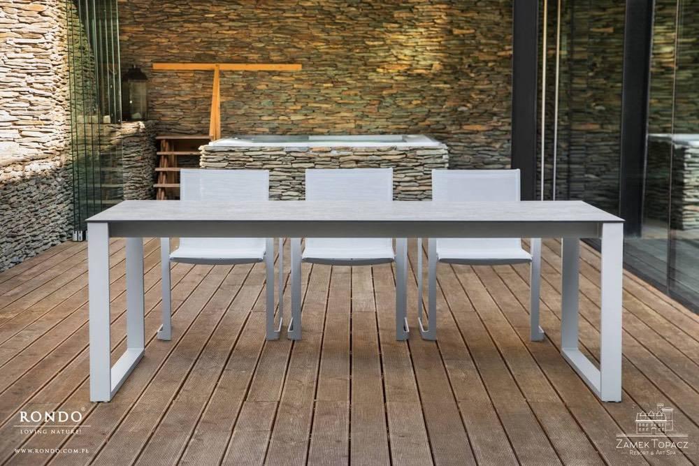 Zahradní stůl Toscania Dining 220 x 100 cm HPL